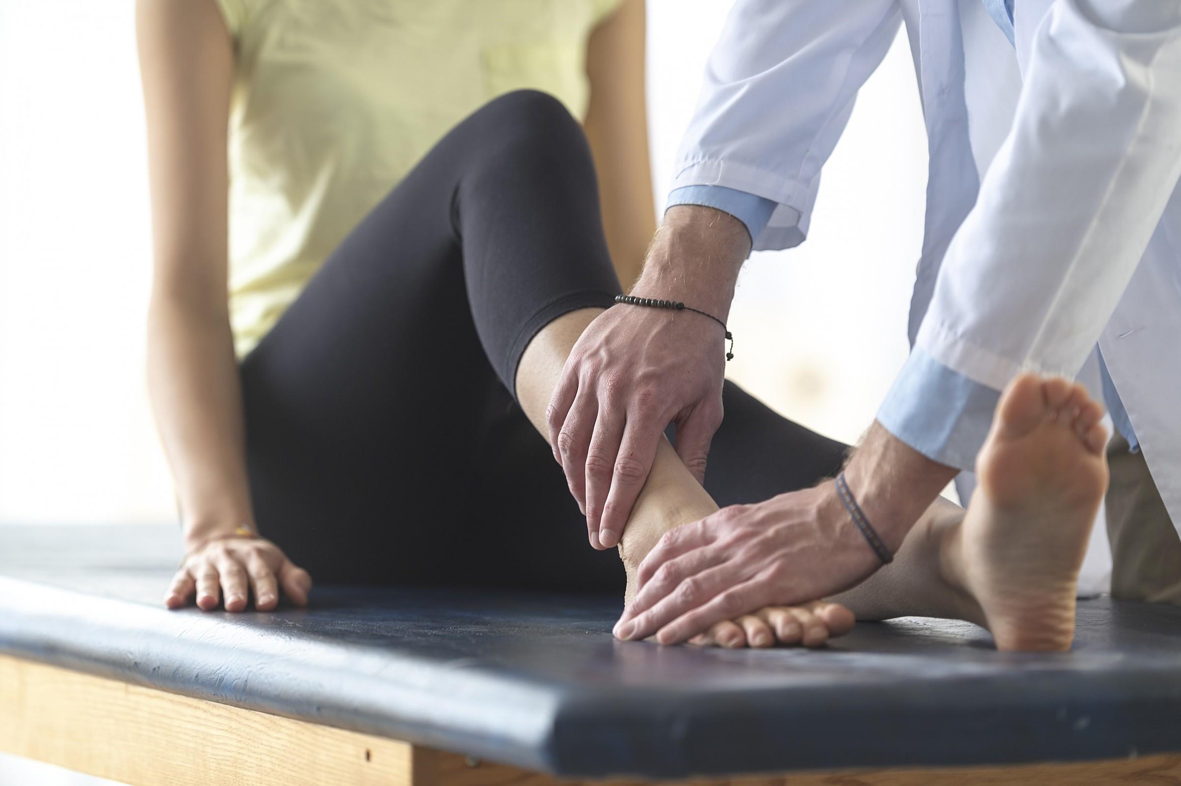 fisioterapia para fratura no tornozelo