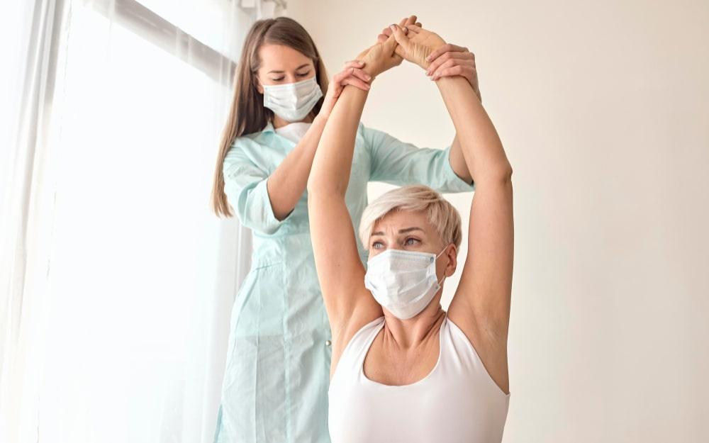 Fisioterapia para tendinite em Moema